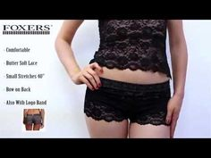Charcoal Gray Lace Boxer Short | FOXERS