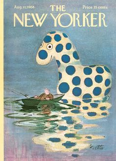 The New Yorker - Saturday, August 10, 1968 - Issue # 2269 - Vol. 44 - N° 25 - Cover by : Mischa Richter