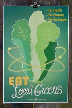 love these victory-garden-style modern themed posters.