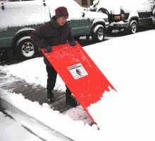 Amazing Snow Scoop (snow shovel)