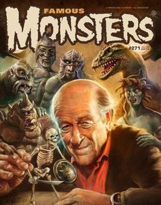 Ray Harryhausen on the Cover of my FAVORITE Magazine growing up !