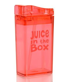 Take a look at this Red Juice in the Box by Juice in the Box on #zulily today!  how cool!
