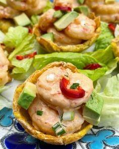 How to make empanada dough for baking - Laylita.com Ceviche Recipe, Shrimp Ceviche, Shrimp Salad, Tuna Salad, Cucumber Salad, Beef Empanadas, Empanadas Recipe, Tart Recipes, Soup Recipes