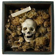 skull & flowers http://www.creativeboysclub.com/