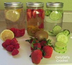 Fruit Infused Water recipe ideas