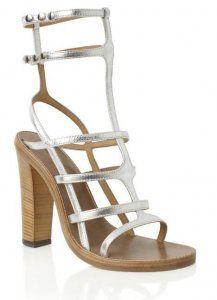 Cheap Isabel Marant Silver Oceane Shiny Bridal Sandal Hot Sale, Discount Isabel Marant Sneakers