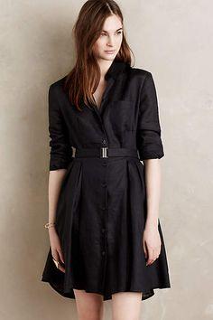 Laila Linen Shirtdress - anthropologie.com