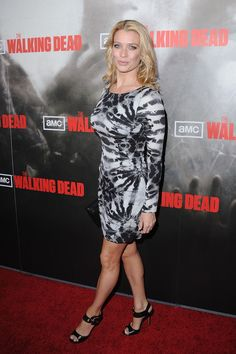 "Laurie Holden Photos - Actress Laurie Holden arrives at the Los Angeles premiere of AMC's ""The Walking Dead"" held at ArcLight Cinemas Cinerama Dome on October 2010 in Hollywood, California. - Premiere Of AMC's ""The Walking Dead"" - Arrivals Laurie Holden, The Walking Dead, Fashion Details, Actors & Actresses, How To Look Better, Awards, Formal Dresses, Crushes, Photos"