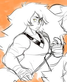 fresh piping hot jaspers for your jasper hole Jasper Steven Universe, Steven Universe Fusion, Steven Universe Characters, Greg Universe, Steven Universe Memes, Jasper Su, Holly Blue, Barbarian, Art Reference