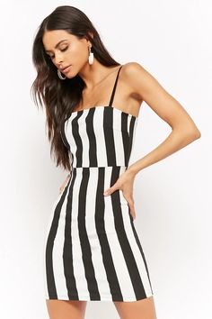 Product Name:Striped Bodycon Mini Dress, Category:dress, Price:28