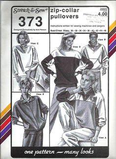 VTG Stretch & Sew 373 Unisex Stretch Knit by DawnsDesignBoutique, $8.99