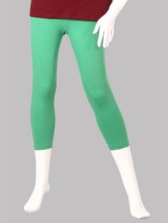 Twin Birds Green Grass Woman 3/4 Leggings