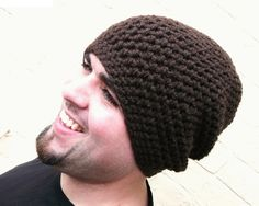 Excellent Image of Mens Crochet Hat Pattern Mens Crochet Hat Pattern Mens Crochet Hat Free Easy Crochet Patterns Mens Crochet Hat Mens Crochet Beanie, Crochet Men, Easy Crochet Hat, Crochet Beanie Pattern, Free Crochet, Crochet Patterns, Hat Patterns, Knit Beanie, Knitting Patterns