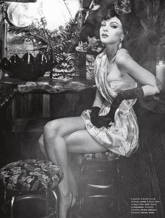 Sofia Sanchez & Mauro Mongiello Lens Jessica Stam in 'Soy Cuba' for Numéro #141 March 2013