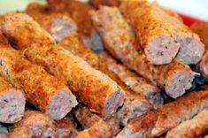 Przepis na kebabki - mielone wałeczki | Przepisy na domowe wędliny Polish Recipes, Polish Food, Kielbasa, Meatloaf, Deli, Sweet Potato, Sausage, Grilling, Pork