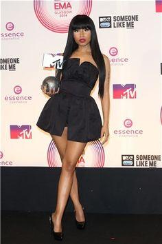 La alfombra roja de los Premios MTV Europa 2014