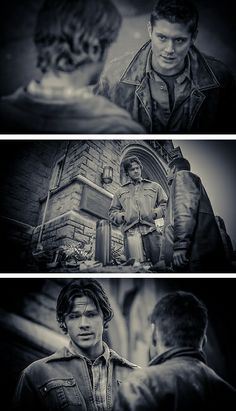 Back when they didn't believe in Angels.  2x13 Houses of the Holy