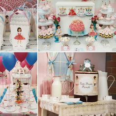 Vintage Paper Doll Party {1950s Inspired} by Sweet On Parties!