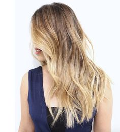 Light brown and blonde combo by Johnny Ramirez