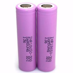 Authentic Samsung INR18650 30Q 3.6V 3000mAh Rechargeable Li-ion Batteries (2-Pack)  #Kanger #vapejuice #vape #vapefam #vaping #VapeOn #eliquid #ecigs #vapelife #ecig