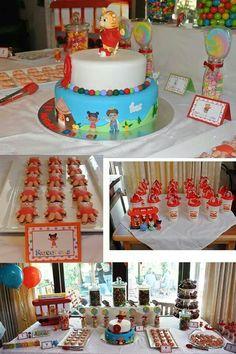 We love Daniel Tiger! Sons Birthday, 3rd Birthday Parties, Birthday Bash, Birthday Celebration, Baby Birthday, Birthday Ideas, Kid Parties, Daniel Tiger Party, Daniel Tiger Birthday