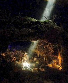 1 million+ Stunning Free Images to Use Anywhere Christmas Cave, Christmas Crib Ideas, Christmas Drama, Christmas Stage Design, Christmas In Italy, Christmas Crafts, Diy Nativity, Christmas Nativity Scene, Christmas Scenes