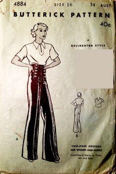 Butterick 4884 (1933)
