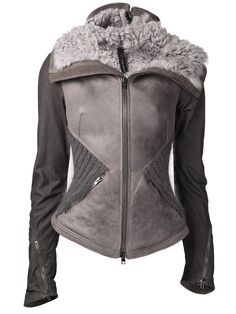 Designer Leather Jackets for Women - Fashion Leather Jackets Online, Designer Leather Jackets, Dark Fashion, Urban Fashion, Leather Jacket With Hood, Cool Coats, Jackets For Women, Clothes For Women, Estilo Retro