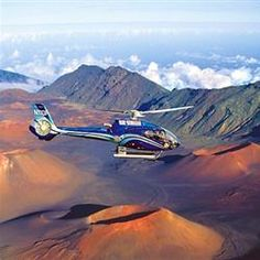 Touring Haleakala, the world's largest dormant volcano -- the entire island of Manhattan can fit into its crater! -- aboard a Blue Hawaiian Eco-Star.