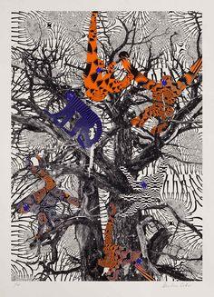 Psychedelic Prints by Kustaa Saksi | Yellowtrace