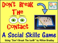 """With the goal of making and keeping friendships, this product brings a fun and interactive way to teach social skills and perspective taking concepts.Using the popular game """"Don't Break The Ice,"""" over 60 thinking socially perspective taking questions with Social Skills Games, Social Skills Autism, Teaching Social Skills, Teaching Ideas, Games For Kids, Activities For Kids, Kids Fun, Perspective Taking, Thinking Strategies"""