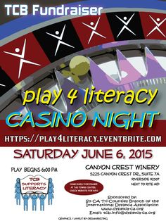 Casino Night - IDA-TCB. Canyon Crest Winery, Riverside CA
