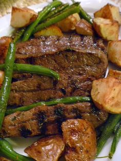 Red Wine and Rosemary Flat Iron Steak | Best Recipes for Dinner