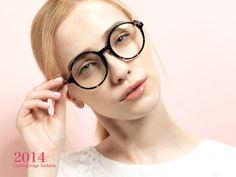 nice 2014 new trend plain mirror round vintage retro optical glasses tr-90 circle frame eyeglasses for women prescription specs 5870