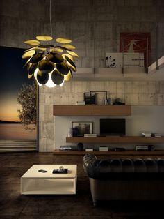 Discocó pendant lamp by Christophe Mathieu