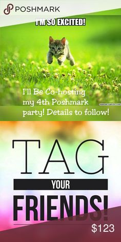 I'll Be Co-hosting my 4th Poshmark Party! Must, without question be Poshmark Loyal,  meaning, Following ALL Posh Rules and Reg. If your unsure, Please go to the (Q & A) section on what is allowed to be sold and is not. I have Zero tolerance for Replicas,  not only will you not receive a HP but you will indeed be reported. People work very hard for their money and would hate to see anyone hi through that! These Parties are for each of us to have a Great time, share, laugh, meet new people…