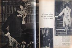 Modèle Femme -Septembre 1959- Marie~Claire COLLECTIONS