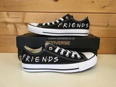 Friends Low Top Converse #friends #converse #customconverse