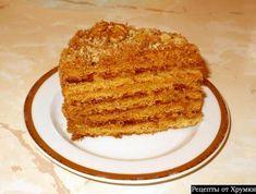 торт медовик...