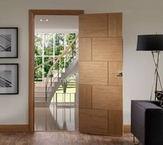 Modern Flush Door Design Ideas for Indian Homes White Wooden Doors, Modern Wooden Doors, Internal Wooden Doors, Custom Wood Doors, Wooden Door Design, Internal Doors Modern, Interior Door Styles, Interior Doors For Sale, Door Design Interior
