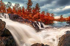 The 70 feet drop:  Kawishiwi Falls (Minnesota) by Like_He on 500px