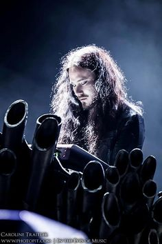 Tuomas Holopainen, leader of the classical metal band Nightwish: He might be narcissistic and vengeful but there's no denying he's good looking and talented!