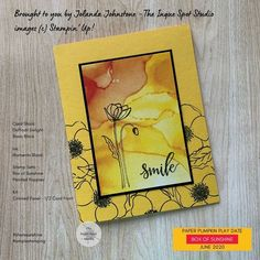 June 2020 Paper Pumpkin alternative Pumpkin Cards, Paper Pumpkin, Box Of Sunshine, Poppy Cards, Stamping Up, Flower Cards, Daffodils, Diy Cards, Stampin Up Cards