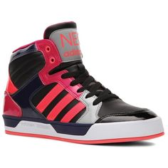 adidas NEO Raleigh High-Top Sneaker - Womens ($70) found on Polyvore