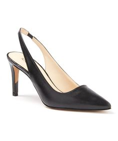 This Black Casablanc Leather Slingback is perfect! #zulilyfinds