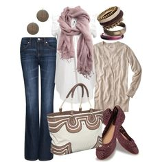 Very cute outfit...great for Spring or Fall!