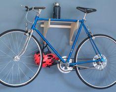 PORTE-vélos : En bois avec tablette