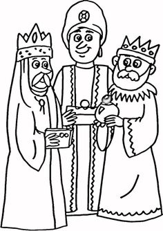 Three Wise Men Coloring pages. Select from 31983 printable Coloring pages of cartoons, animals, nature, Bible and many more. Free Printable Coloring Pages, Coloring Pages For Kids, Coloring Sheets, Coloring Books, Printable Crafts, Free Printables, King Drawing, Religion, Printable Pictures