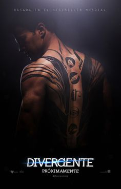 Theo James (Four)   Poster
