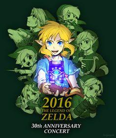 I ended up going to symphony of the goddesses in August though The Legend Of Zelda, Legend Of Zelda Breath, Zelda Video Games, Art Jokes, Gamers Anime, Link Art, Wind Waker, Nintendo, Twilight Princess